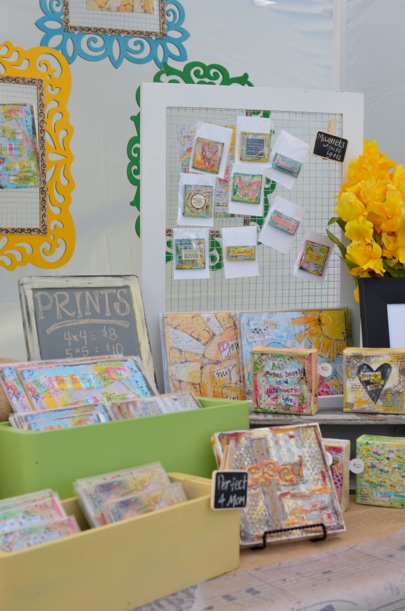 art craft show booth